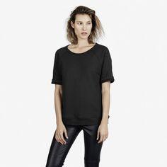 The Short Sleeve Sweatshirt - Everlane