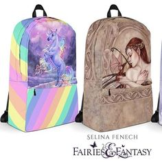 Backpaaaaaaaaacks! These are so much fun. I'm a bit of a bag-o-holic and I want one of all these designs! These and lots of other artworks of mine on backpack designs at https://ift.tt/2JGoQ42