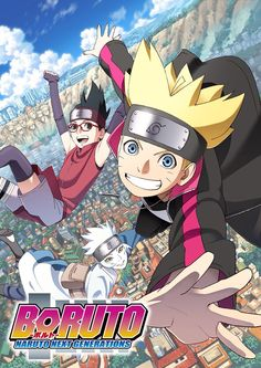The life of the shinobi is beginning to change. Boruto Uzumaki, son of Seventh Hokage Naruto Uzumaki, has enrolled in the Ninja Academy to learn the ways of the ninja. Now, as a series of mysterious events unfolds, Boruto's story is about to begin! Anime Naruto, Naruto Shippuden, Hinata Hyuga, Sasuke Uchiha, Manga Anime, Naruto Y Hinata, Boruto And Sarada, Naruto Art, Naruhina
