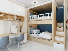 12 Tips for Contemporary Living Room Decoration Bunk Bed Designs, Small Bedroom Designs, Room Design Bedroom, Small Room Design, Room Ideas Bedroom, Home Room Design, Home Decor Bedroom, Bedroom Kids, Bunk Bed Rooms