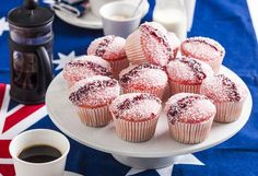 Iced VoVo Cupcakes - The Iced Vovo biscuit is an Aussie favourite (iconic, even!) Serve them up in cupcake form next Aus - Cupcake Recipes, Baking Recipes, Dessert Recipes, Cupcake Ideas, Baking Ideas, Pavlova, Australian Sweets, Australian Party, Australian Recipes