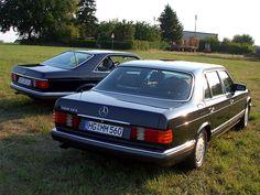 1979-1991 Mercedes-Benz W126 500 SEC and 560 SEL - Mercedes-Benz W126