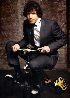 Andy Samberg. Whether he's on a motherf$?&in boat or he has his #$@¥ in a box, he is always funny!