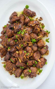 Pork Tenderloin Salpicao Recipe
