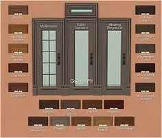 """Mod The Sims - Open For Business """"Euro"""" Door and Window Recolors"""