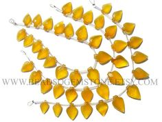 7 Inch Yellow Chalcedony Beads In Arrow Faceted Shape Quality #yellowchalcedony #yellowchalcedonybeads #yellowchalcedonybead #yellowchalcedonyarrow #arrowbeads #beadswholesaler #semipreciousstone #gemstonebeads #beadsogemstone #beadwork #beadstore #bead