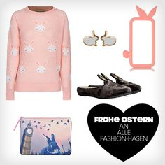 Frohe Ostern an alle Fashion-Hasen!