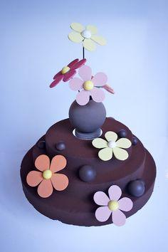 Burch & Purchese Wedding Cake
