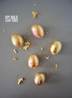diy-gold-leaft-eggs