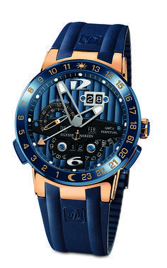 11698004f0f Close-Up  The Boutique-Exclusive Ulysse Nardin Blue Toro
