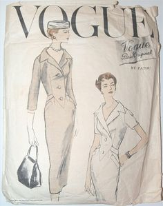 Vogue Paris Original 1326, Patou