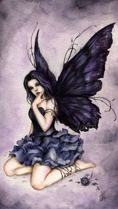 Denied but she still flies Fairy Butterfly. Elfen Fantasy, Fantasy Art, Dark Fantasy, Elfen Tattoo, Amy Brown Fairies, Dark Fairies, Fantasy Fairies, Fairy Drawings, Fairy Tattoo Designs