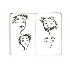 Le petit carnet rose/ personnages et expressions
