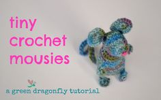 Crochet mouse tutorial and free pattern