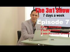On this episode seven we discuss kids and technology, how to control your emotions and social media selling secrets.