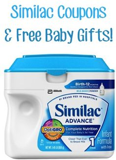 Similac Coupons and Free Baby Gifts! #babies