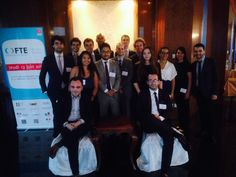 Matthieu David Experton, with the team of the  FTE Shanghai 2014