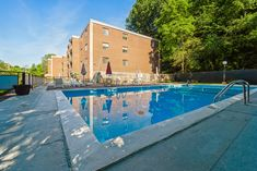 Take a dip in our Olympic sized pool, relax in the courtyard, read a book in the lounge, or get your heart rate up in our state-of-the-art gym. #amenities #hampshirehouse #paapartments Mount Lebanon, Hampshire House, Heart Rate, Olympics, Dip, Relax, Lounge, Tours, Book