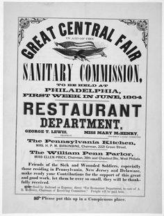 Civil War Sanitary Fairs | Encyclopedia of Greater Philadelphia