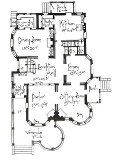 Vintage House Victorian Floor Plans New Ideas Victorian House Plans, Vintage House Plans, Victorian Homes, Stairs Architecture, Victorian Architecture, Architecture Details, Drawing Architecture, Chinese Architecture, Futuristic Architecture