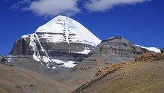 Gang Ti Se also known as Mt Kailash, Tibet