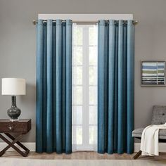 Madison Park Ombre Curtain/