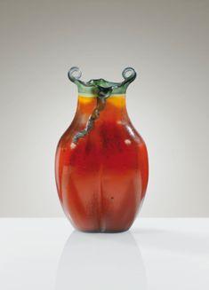 gallé, emile vase, vers 1900 ||| object ||| sotheby's pf1404lot788tken