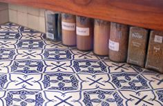 Hand painted Mosaic tiles by Mosaic House