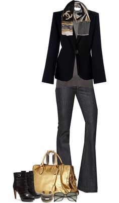 by partywithgatsby on Polyvore - cute work or weekend outfit