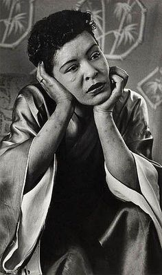 "earthakitt: "" ""Like that photographic portrait of Billie Holiday by Moneta Sleet I love so much, the one where instead of a glamorized image of stardom, we are invited to see her in a posture of thoughtful reflection, her arms bruised by tracks,. Billie Holiday, Lady Sings The Blues, Jazz Musicians, Jazz Artists, Jazz Blues, Music Icon, Indie Music, Black Is Beautiful, Beautiful People"