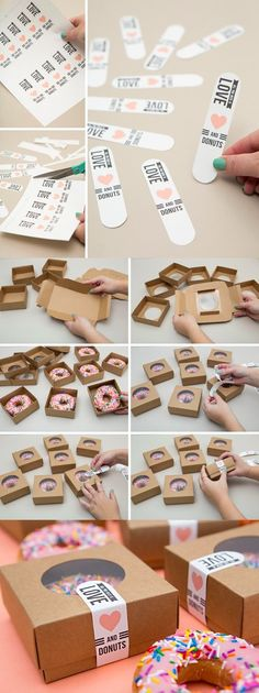 86 beautiful DIY gift ideas for your best friend craft 86 beautiful ., gift ideas for best friend 86 beautiful DIY gift ideas for your best friend craft 86 beautiful . Food Packaging, Packaging Design, Packaging Ideas, Diy Cookie Packaging, Packaging Dielines, Cute Packaging, Product Packaging, Cake Vegan, Cookies Et Biscuits