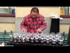Crazy Performance! Street Musician Playing Water Glasses! Epic Talented Street Artists... - YouTube