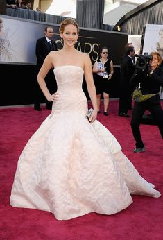85th Annual Academy Awards - Arrivals: Jennifer Lawrence in Dior Haute Couture