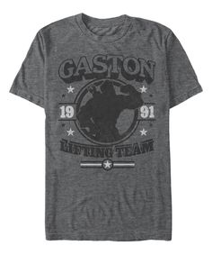 Take a look at this Charcoal Heather 'Gaston Lifting Team' Tee - Men & Big today!