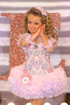 Buy cheap 2013 Isabella Barrett Kids Pageant Dresses Little Girls Cupcake Dress Light Pink With Feather On Shoulder And Rhinestone Organza ZJ073 with $174.72-179.2/Piece DHgate