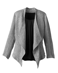 Easy linen jacket