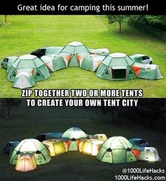 Great camping idea for this summer!