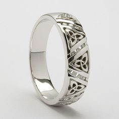 Brand New !! 925 Maze Lines Ring ! Steady Sterling Silver