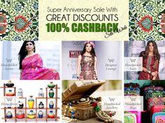 Super Anniversary #Sale, 100% cashback