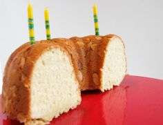 Half-birthday bundt cake!