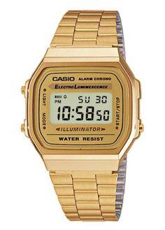 Casio Collection A168WG-9EF Gold: Amazon.de: Uhren