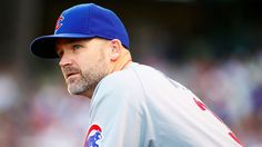 David Ross, the mentor for the Chicago Cubs.