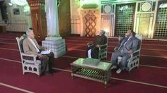 قناة شيعية تصور برنامجا داخل مسجد الحسين في #القاهرة