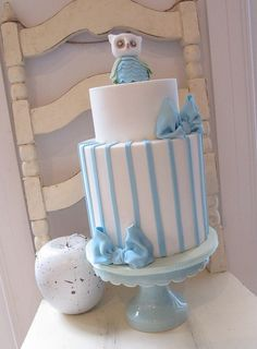 Baby Shower Cake  @Sara Eriksson Eriksson Eriksson Fradenburg Addict, via Flickr