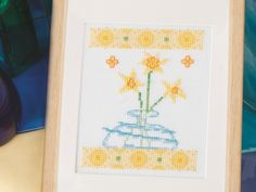 Spring is here! | Free Chart | Cross Stitching