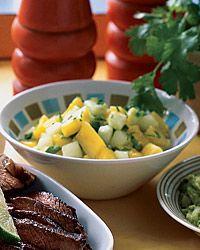 Mango-Cucumber #Salsa - Salsa on Food & Wine