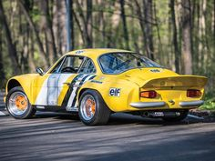 """Recently restored and updated Fitted with """"Tour de Corse"""" Group body Features extremely rare Lucas guillotine fuel injection My Dream Car, Dream Cars, Monaco, Megane Rs, Alpine Renault, Rally Raid, Car Drawings, Vintage Racing, Car Manufacturers"""