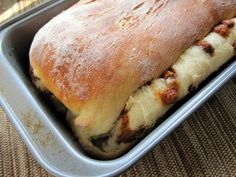 Cinnaburst Bread...cinnamon chips recipe included or you ca order them from King Arthur Flour