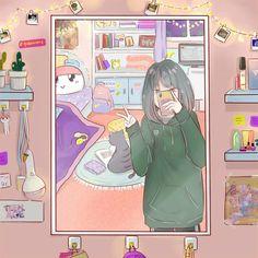 carat y monbebe fanart Anime Chibi, Kawaii Anime, Anime Art, Kpop Drawings, Cute Drawings, Aesthetic Art, Aesthetic Anime, Dibujos Cute, Kawaii Wallpaper