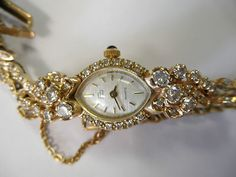 gold and diamond vintage watch..oh my!!